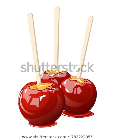 Delicious Glazed Candy Apples Stock photo © stevanovicigor