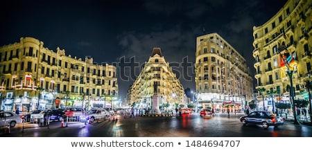 Cairo ciudad tráfico Egipto 2015 ocupado Foto stock © smartin69