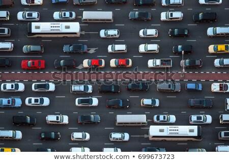 Miasta korku Kuala Lumpur Malezja samochodu drogowego Zdjęcia stock © ldambies