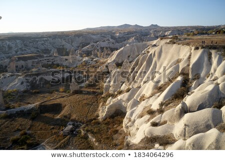 岩 トルコ 水平な 写真 風景 旅行 ストックフォト © Novic