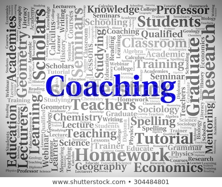 Woord webinar trainers leerkrachten betekenis Stockfoto © stuartmiles