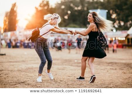 Having fun at Oktoberfest. Stock photo © Fisher