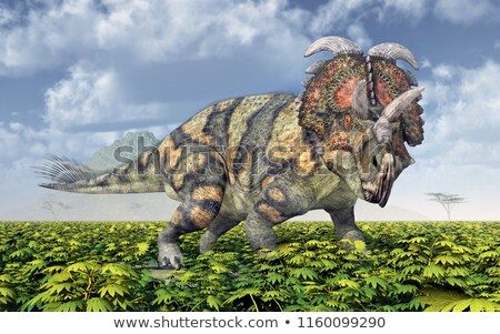 Albertaceratops Dinosaur Stock photo © AlienCat