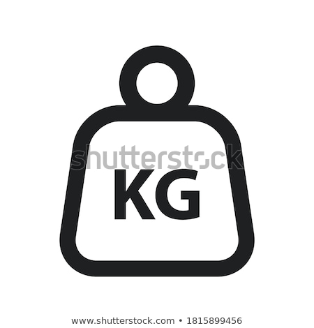 kg weights Stock photo © shutswis