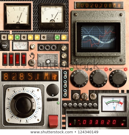 dispositivo · atual · tensão · resistência · velho - foto stock © oleksandro