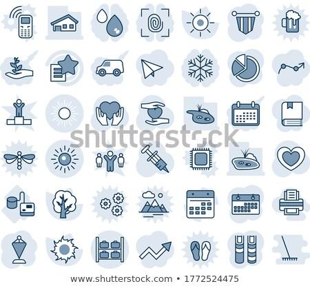 szív · mobil · illusztráció · orvosi · logo · gyógyszer - stock fotó © mcherevan