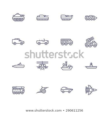 missile launcher illustration Stock photo © prill