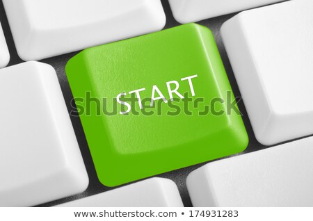 Laptop button - Start Stock photo © michaklootwijk