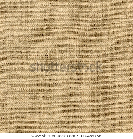 Burlap or hessian textile background texture Stock photo © ozgur