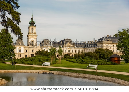 Nice castle in Keszthely, Hungary Stock photo © digoarpi