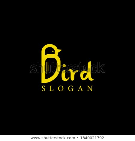 A letter B for bird Stock photo © bluering