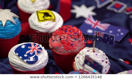 Australia Day Decorated Boomerang Stock photo © Bigalbaloo
