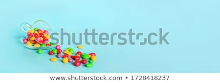 colourful buttons with mugs and saucers stock photo © bluering