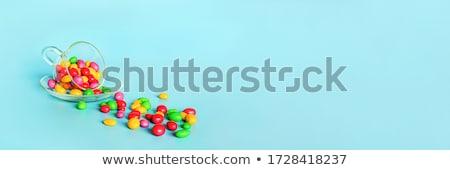 Coloré boutons fond boire lait rouge Photo stock © bluering