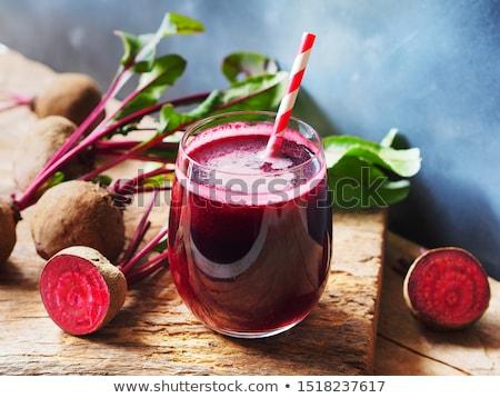 Beetroot juice Stock photo © racoolstudio