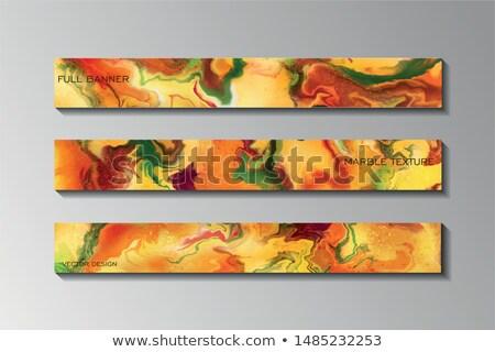 grunge · sonbahar · yaprakları · örnek · vektör · modern · sevimli - stok fotoğraf © galyna