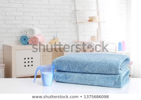szennyes · por · mosószer · izolált · fehér · takarítás - stock fotó © ssuaphoto
