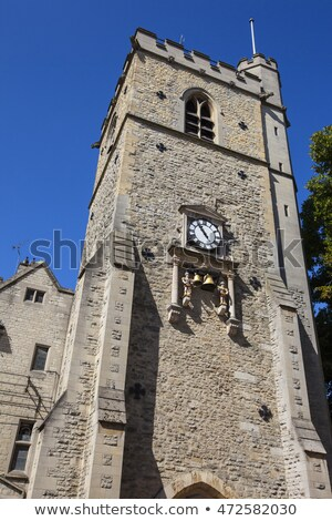 Chime of Carfax Tower in Oxford Stock photo © chrisdorney