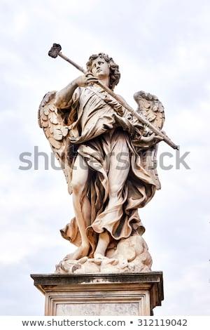 Angels on the Ponte Sant'Angelo, Stock photo © m_pavlov
