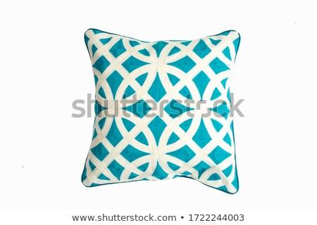 Green Pillow - isolated Stock photo © kayros
