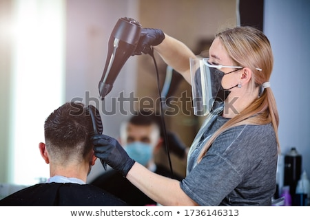 Hairstylist. Stock photo © Fisher
