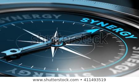 motivation · mot · boussole · affaires · avenir · concept - photo stock © zerbor