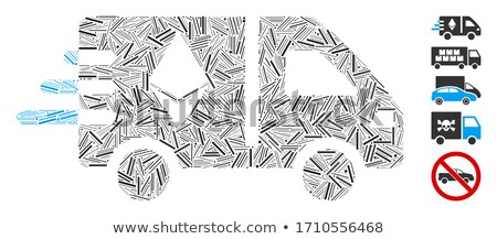 Ethereum Fast Delivery Car Flat Icon Stock photo © ahasoft