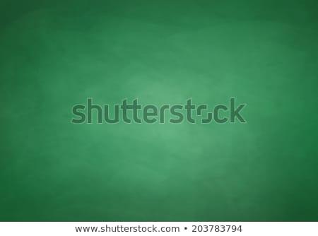 Vazio quadro-negro verde conselho escolas Foto stock © opicobello