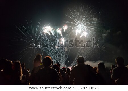 fireworks display background stock photo © solarseven