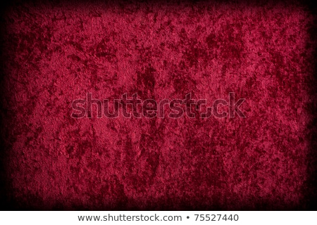Red velvet-like fabric for background or texture. stock photo © nickp37