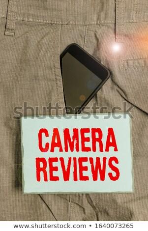 решения объектив камеры красочный Сток-фото © tashatuvango
