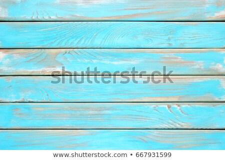 Mavi masmavi ahşap doku arka plan ağaç büro Stok fotoğraf © romvo