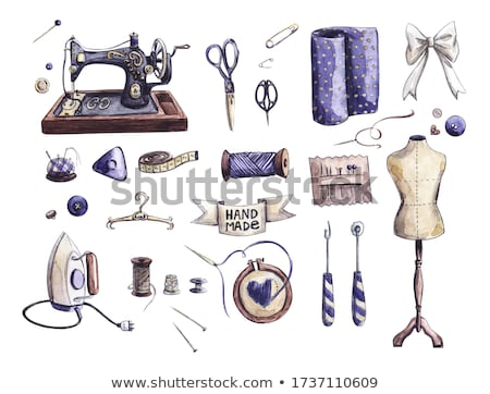Shabby Sewing Mannequin Stock photo © lenm