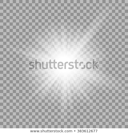 vector · dorado · marco · luz · efecto · llamarada - foto stock © articular