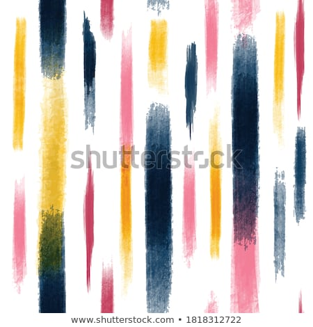 Colored Brushes Seamless Pattern on White Stock photo © Valeo5