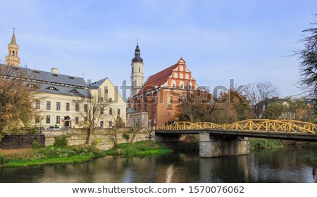 holy trinity church in opole stock photo © benkrut