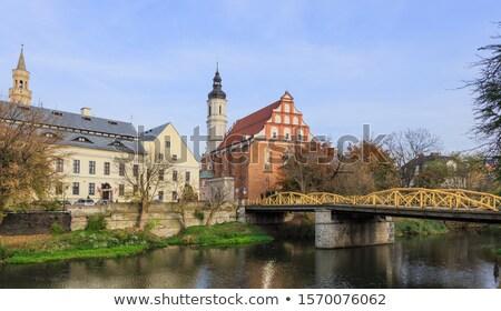 Holy Trinity church in Opole Stock photo © benkrut