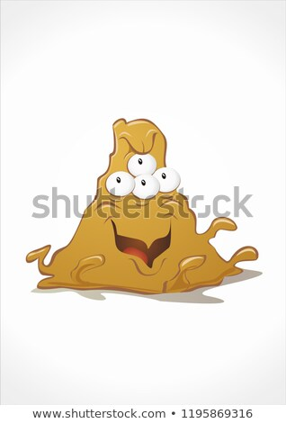 Mud based monster Stock photo © chocolatebrandy