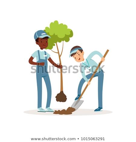 voluntariado · voluntarios · como · ayudar · semillas - foto stock © pikepicture