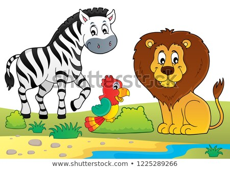 African nature theme image 6 Stock photo © clairev