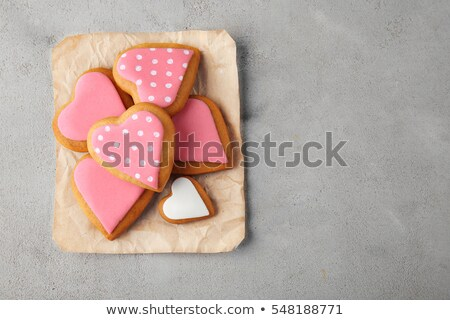 assortment of love cookies stock photo © grafvision