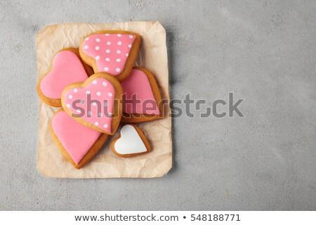 Cookies · банку · стекла · шоколадом · десерта · есть - Сток-фото © grafvision
