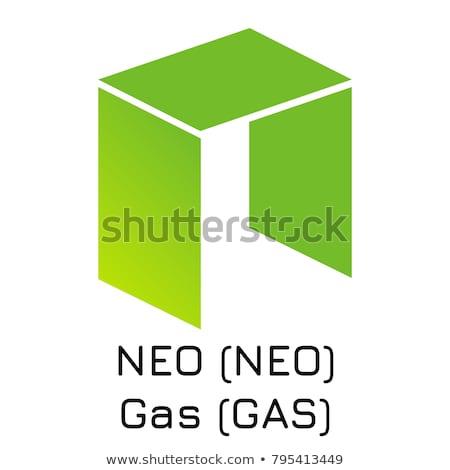 gas   gas the icon of virtual currency or market emblem stock photo © tashatuvango