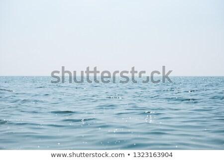 Laconic seascape with haze Stock photo © Kotenko