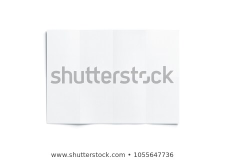 top view illustration of white paper sheets stock photo © sonya_illustrations
