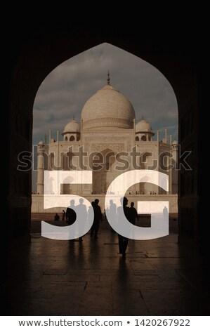 internet · Indië · indian · vlag · computer - stockfoto © szefei