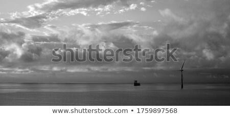 Wind turbines on Canary islands Stock photo © vapi
