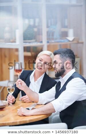 Profissional vinho cor gosto Foto stock © pressmaster