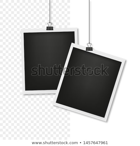 collect photo frame mockup stock photo © -talex-