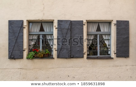 historic houses in Straubing, Germany Stock photo © borisb17